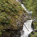 Upper Twin Falls Steps by Darleen Stry