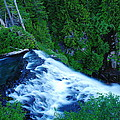 Upper View Of Narada Falls by Jeff Swan