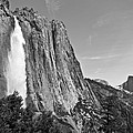 Upper Yosemite Fall With Half Dome by Shane Kelly
