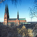 Uppsala Cathedral by Bob Phillips