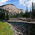 Upriver In Washake Wilderness by Kathy McClure