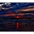 Upside Down Peace Sign Sunrise by Mark Lemmon