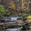 Upstream Bridal Veil Falls by Denny Beck