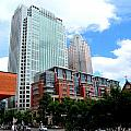 Uptown Charlotte 5 by Ron Kandt