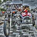 Ural Wolf 750 And Sidecar by Steve Purnell