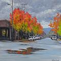 Urban Autumn by Karen Ilari