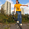 Urban Bmx Flatland With Monika Hinz by Matthias Hauser