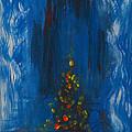 Urban Christmas Tree by Anne Cameron Cutri