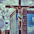 Urban Crucifixion by Kathleen K Parker