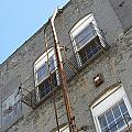 Urban Decay Grey Wall Ladder by Anita Burgermeister