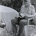 Urban Elder Vern Harper Cleaning Pipes by Patrick Wey