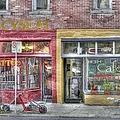 Urban Mercyseat Oil Painting by Liane Wright