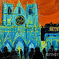 Urban Story - The Festival Of Lights In Lyon by Mona Edulesco