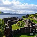 Urquhart Castle Ruins by DejaVu Designs