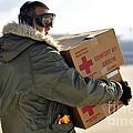 U.s. Air Force Airman Carries American by Stocktrek Images