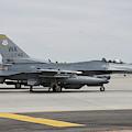 U.s. Air Force F-16c Planes Undergo by Riccardo Niccoli