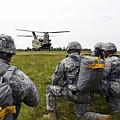 U.s. Army Paratroopers Prepare To Board by Stocktrek Images