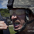 U.s. Army Sergeant Testing by Stocktrek Images