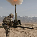 U.s. Army Soldier Fires A 122mm by Stocktrek Images