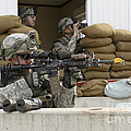 U.s. Army Soldier Looks Down The Scope by Stocktrek Images