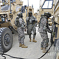 U.s. Army Soldiers Jump Start A Light by Stocktrek Images