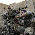 U.s. Army Soldiers Set Up A Tactical by Stocktrek Images