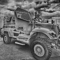 Us Army Troop Carrier by Douglas Barnard