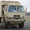 U.s. Army Truck by Terry Moore