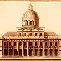 U.s. Capitol Design 1791 by Mountain Dreams