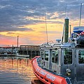Us Coast Guard Defender Class Boat by JC Findley