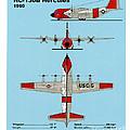 Coast Guard Hc-130 B Hercules by Jerry McElroy