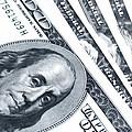 Us Dollar Bills  by Jaroslav Frank