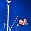 Us Flag 19749 by Jerry Sodorff