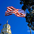 Flag And Moroni by Richard Lynch