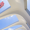 U.s.  Flag At The Uss Arizona Memorial by Diane Diederich
