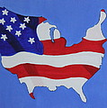 Us Flag by Lorna Maza