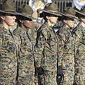 U.s. Marine Corps Female Drill by Stocktrek Images