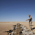 U.s. Marine Corps Officer Directs by Stocktrek Images