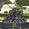 Us Marine Corps War Memorial by Ricky Barnard