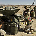 U.s. Marines Assemble A Support Wide by Stocktrek Images