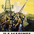 Us Marines by Leon Alaric Shafer