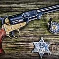 Us Marshall - American Justice - Cowboy by Paul Ward
