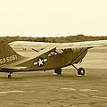 U.s. Military Recon Single Engine Plane by Thomas Woolworth