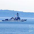 U.s. Navy Ship by Tap On Photo