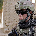 U.s. Navy Soldier At Farah City by Stocktrek Images