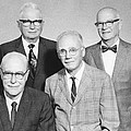 Us Physicists by Science Photo Library