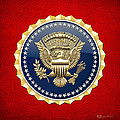 Presidential Service Badge - P S B by Serge Averbukh