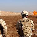 U.s. Soldiers Detonate A Test Explosion by Stocktrek Images