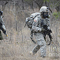 U.s. Soldiers Don Chemical Warfare Gear by Stocktrek Images