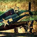 Us Ww II Grumman F4f Wildcat Fighter Plane by Thomas Woolworth